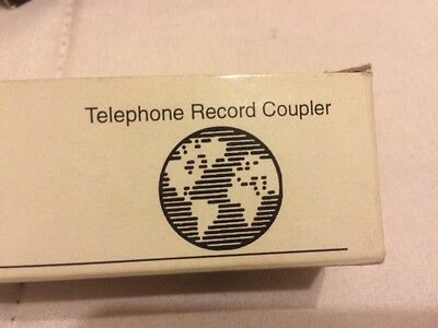 Lanier Lx-1010 Telephone Coupler 930-5247 Telephone Handset To Audio Device