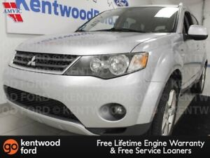 2008 Mitsubishi Outlander XLS 4WD V6 with a sunroof, power leath