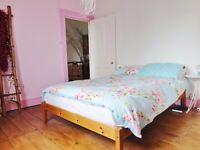 Quiet Double room in elegant Victorian Conversion with Garden London Fields Shorditch