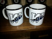 blue bombers 1995 annual dinner coffee mugs