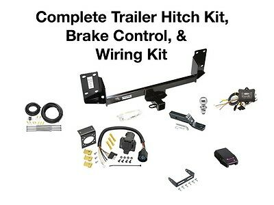 Complete Trailer Hitch Kit, Wiring Kit, & Brake Control Fits a BMW X5 - Trailer Hitch Brake Control