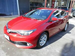 2015 Toyota Corolla ZRE182R Ascent Sport S-CVT Red 7 Speed Constant Variable Hatchback Bentleigh East Glen Eira Area Preview
