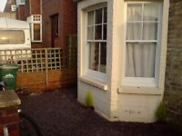 large furnished double room for single professional in houseshare near transport, amenities and sea