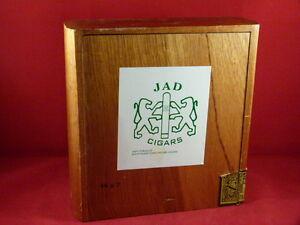 Details about wood cigar box jad dominican republic