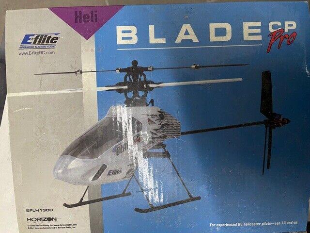 blade CP Pro Hubschrauber, EFLH1300, E-flite, RC Heli, neuwertig in ALU-Koffer,