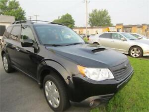 2009  Forester XT Limited 2.5  TURBO AWDFINANCEMENT MISON