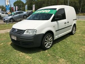 2007 Volkswagen Caddy 2K MY07 1.6 White 5 Speed Manual Van Clontarf Redcliffe Area Preview