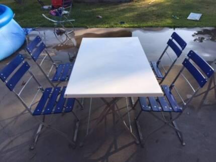 outdoor table and chairs gumtree sunshine coast. german beer garden outdoor table \u0026 chair setting and chairs gumtree sunshine coast