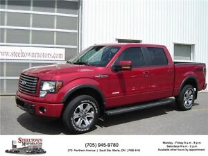 2012 Ford F-150 FX4|Navigation|Sunroof|Heated & Cooled Leather