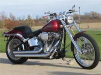Softail FXST - 96 & 6 Speed - Chrome Front End - Full Stage 1