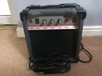 Sound King Practice Amp and guitar lead
