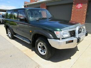 1998 Nissan Patrol GU ST (4x4) Green 5 Speed Manual 4x4 Wagon Holden Hill Tea Tree Gully Area Preview