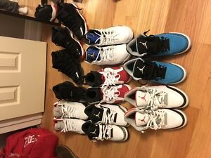 Selling Jordan 3s,5s,6s and 11s sizes 10.5/11