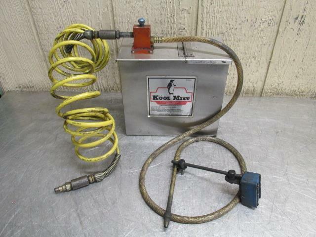 Kool Mist Spray Coolant Generator System Air Pneumatic Powered Pump