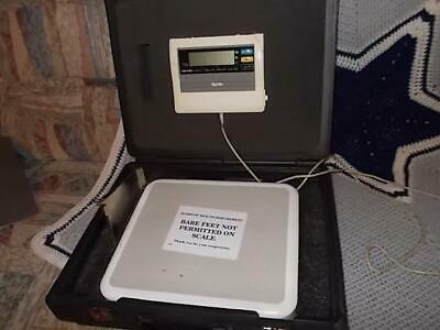 Tanita Bwb-800a Digital Scale W Remote Display With Hard Case Made In Japan