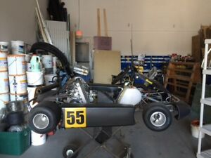 Go Kart with stands