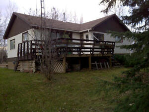 Two bedroom house for rent on acreage near Grande Prairie