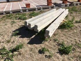 FREE 4 x concrete beams