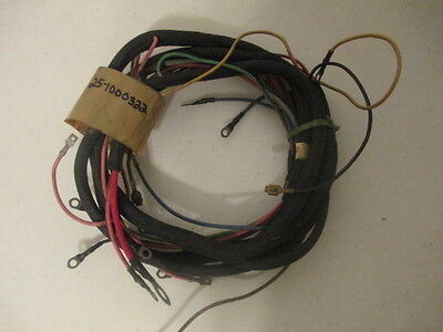 Oliverwhitecombine Farm Tractor New Old Stock Wire Harness