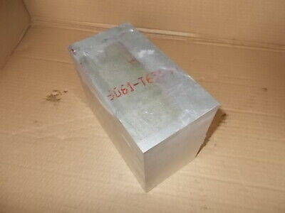 3-12 X 5-12 X 6-34  6061 Solid Aluminum Plate Bar Stock Mill Block