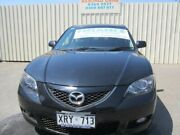 2007 Mazda 3 BK Diesel Black Mica 6 Speed Manual Hatchback Windsor Gardens Port Adelaide Area Preview
