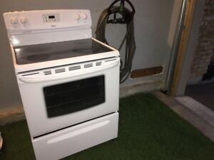 Electric stove range oven