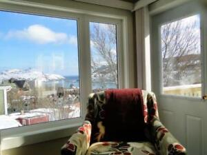 Fully furnished/equpped l bed room apartment, downtown hr view