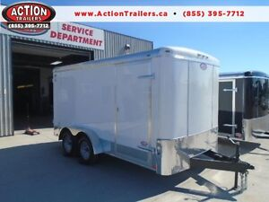 ADDITIONAL HEIGHT 7X14 HD BUILT CARGO TRAILER - BUILT TO LAST! London Ontario image 1