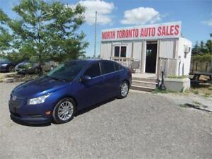 2013 Chevrolet Cruze Eco 6 speed manual CERTIFIED!!
