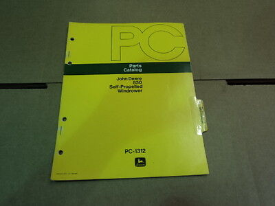 John Deere 25 & 25-A 3 Point Hitch Sprayers Parts Catalog Manual