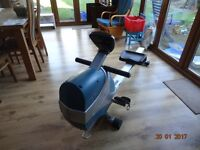 Rowing Machine magnetic resistance with computor