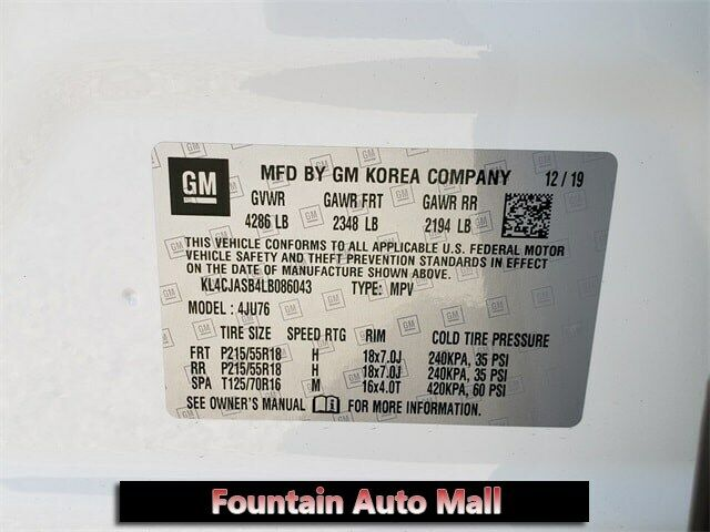 Image 7 Voiture American used Buick Encore 2020