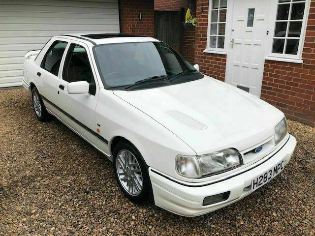 1991 Ford Sierra Sapphire 2 0 RS Cosworth - 4x4 - 101k miles - FSH - White  | in Southwater, West Sussex | Gumtree