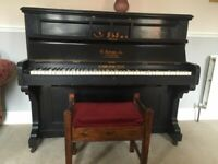 FREE - Andrews Piano for sale & stool
