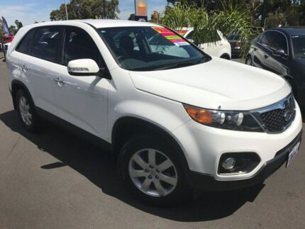 2010 Kia Sorento XM MY11 SI White 6 Speed Sports Automatic Wagon Bunbury Bunbury Area Preview