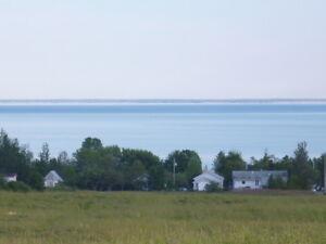 terrain a vendre avec vue sur la mer