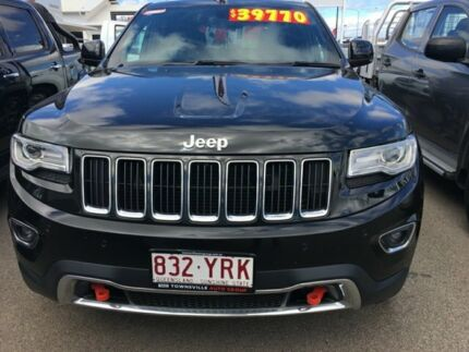 2015 Jeep Grand Cherokee WK MY15 Limited Black 8 Speed Sports Automatic Wagon Garbutt Townsville City Preview