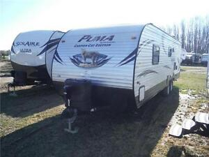 2016 Canyon Cat 27FQC Travel Trailer with Bunkbeds- Sleeps 8 Stratford Kitchener Area image 2