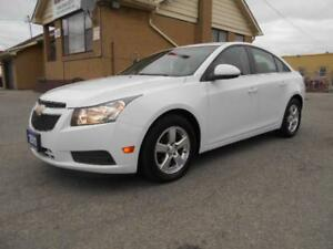 2011 CHEVROLET Cruze LT 1.4L Turbo Automatic Certified 130,000Km