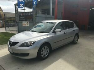 2006 Mazda 3 BK10F2 Neo Silver 5 Speed Manual Hatchback Clontarf Redcliffe Area Preview