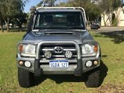 2011 Toyota Landcruiser VDJ79R MY10 GXL Silver 5 Speed Manual Cab Chassis East Rockingham Rockingham Area Preview