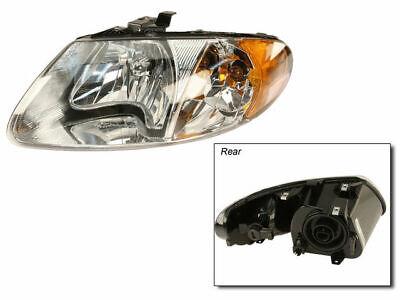 Left Headlight Assembly For 2001-2007 Dodge Caravan 2006 2002 2004 2003 Q533JY