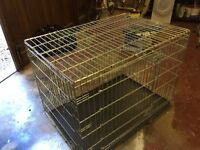 Dog Crate Large Fold Away For Sale