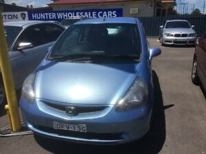 2003 Honda Jazz GLi Blue Continuous Variable Hatchback Sandgate Newcastle Area Preview