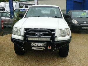2007 Ford Ranger 1 XL SPECIAL PACK White 5 SP MANUAL Dual Cab Wauchope Port Macquarie City Preview