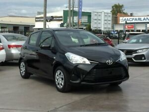 2019 Toyota Yaris NCP130R MY18 Ascent Black 4 Speed Automatic Hatchback Brendale Pine Rivers Area Preview