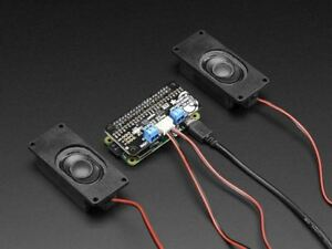 Adafruit I2S 3W Stereo Speaker Bonnet for Raspberry Pi [ADA3346]