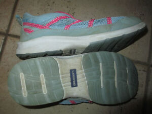 Lands End outdoor, Adidas sneakers, rubber boots, youth size 4 Kitchener / Waterloo Kitchener Area image 2