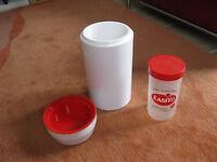Easiyo yoghurt maker - white and red