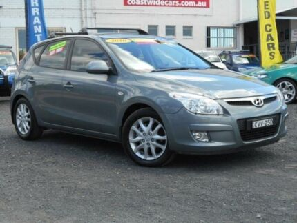 2010 Hyundai i30 FD MY10 SLX 1.6 CRDi Grey 4 Speed Automatic Hatchback Tuggerah Wyong Area Preview